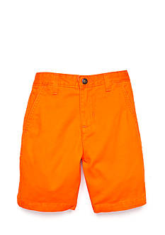 J Khaki™ Flat Front Shorts Toddler Boys
