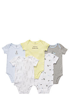 Carter's EDV 5-Pk Safari Bodysuit
