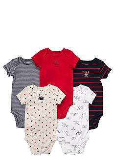 Carter's® EDV 5-Pack Football Bodysuit Set