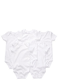 Carter's EDV 5-Pack White Bodysuit