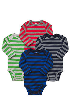 Carter's® EDV 4-Pack Stripe Bodysuits