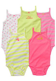Carter's EDV 5-Pack Sleeveless Bodysuit Set