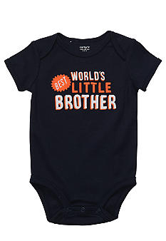 Carter's Little Brother Slogan Bodysuit