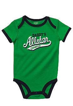 Carter's Daddy's All Star Slogan Bodysuit