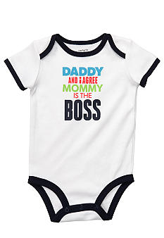 Carter's Mommy Is The Boss Slogan Bodysuit