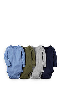 Carter's 4-Pack Assorted Heathered Bodysuits