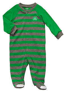 Carter's Striped St. Patrick's Day Sleep & Play