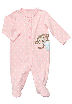 Carter's Polka Dot Monkey Sleep & Play