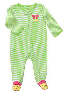 Carter's EDV Stripe Butterfly Sleep & Play