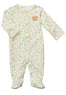 Carter's® EDV Ditsy Floral Butterfly Sleep & Play