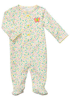 Carter's EDV Ditsy Floral Butterfly Sleep & Play