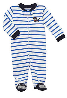 Carter's EDV Stripe Dog Footed Sleep & Play