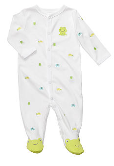 Carter's EDV Frog Footed Sleep & Play