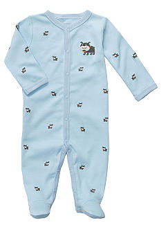 Carter's EDV Dog Footed Sleep & Play