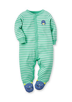 Carter's Monster Striped Sleep and Play