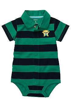 Carter's Monster Polo  Bodysuit
