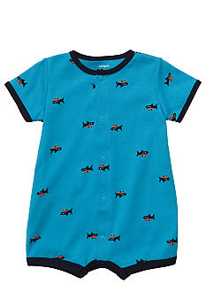 Carter's Shark One Piece Bodysuit