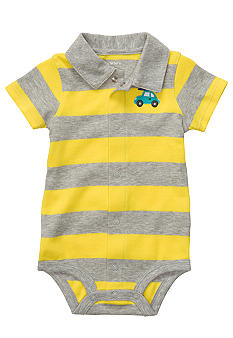 Carter's Stripe Polo Bodysuit