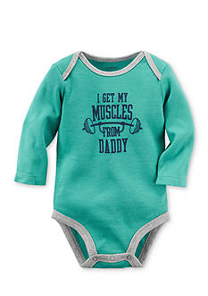 Carter's Muscles From Daddy Collectible Bodysuit