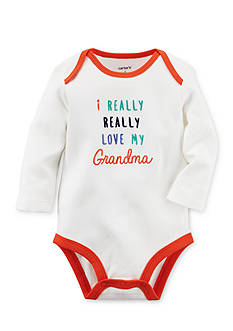 Carter's I Really Love My Grandma Collectible Bodysuit