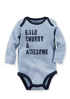 Carter's Bald Chubby & Awesome Bodysuit