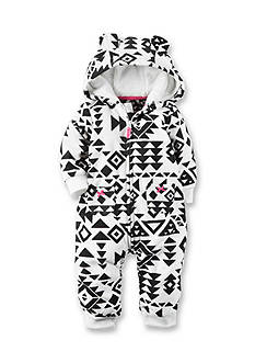 Carter's Hooded Fleece Jumpsuit