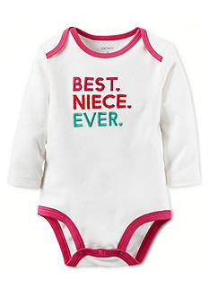 Carter's Best Niece Ever Collectible Bodysuit