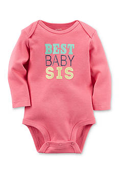 Carter's Best Baby Sis Collectible Bodysuit
