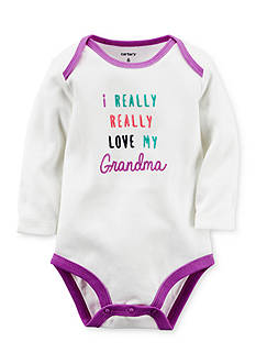 Carter's Love My Grandma Collectible Bodysuit