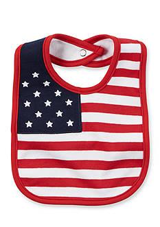 Carter's American Flag Bib