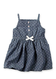 Carter's 2-Piece Chambray Dress Set