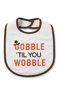 Carter's 'Gobble Til You Wobble' Feeding Bib