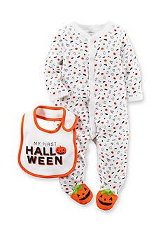 Carter's Halloween 2-Piece Cotton 1-Piece & Bib Set