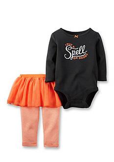 Carter's 2-Piece Halloween Bodysuit and Tutu Pants Set