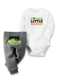 Carter's 2-Piece Mommy's Little Monster Bodysuit and Pants Set