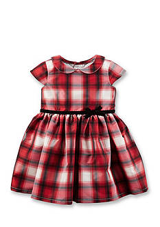Carter's Plaid Tafetta Dress