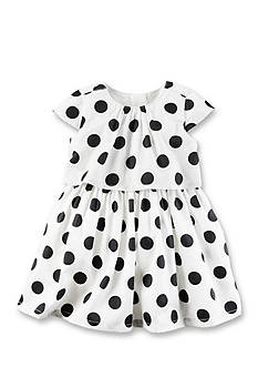 Carter's Sateen Polka Dot Dress