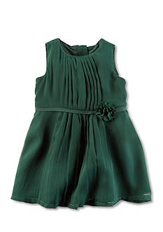 Carter's Bow Belt Chiffon Dress
