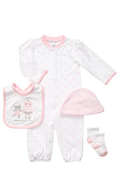 Carter's EDV Ballet 4-Piece Sleeper Set