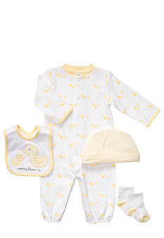 Carter's EDV Duck 4-Piece Sleeper Set