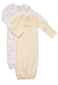 Carter's EDV 2-Pack Safari Gown Set