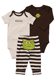 Carter's EDV Monster 3-Piece Bodysuit Set