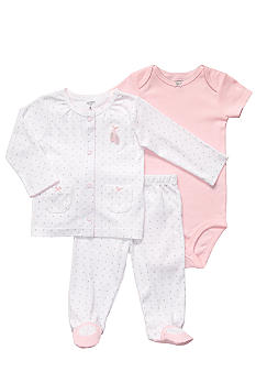 Carter's EDV Ballet 3-Piece Footie Set