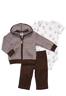 Carter's EDV Monkey 3-Piece Cardigan Set