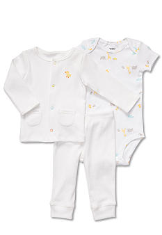 Carter's EDV Duck 3-Piece Cardigan Set