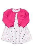 Carter's® EDV Pink Dot 2-Piece Set