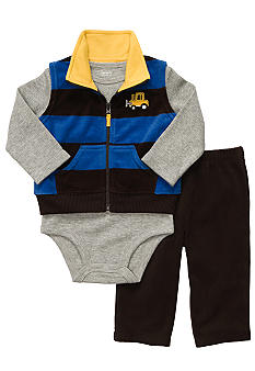 Carter's Stripe Cardigan Pant Set