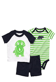 Carter's 3-Piece Dinosaur Short Set
