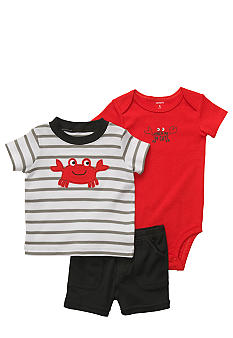 Carter's 3-Piece Crab Diaper Cover Set