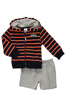 Carter's 2-Piece Hooded Shark Cardigan Set